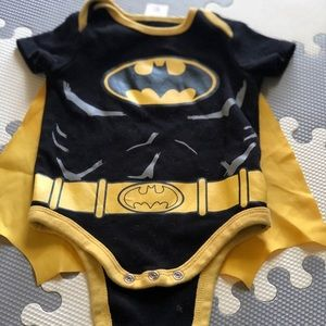 Baby Batman Onesie With Cape